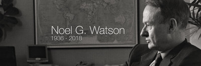 Former Jacobs Chairman and Chief Executive Officer Noel Watson, 1936-2018.