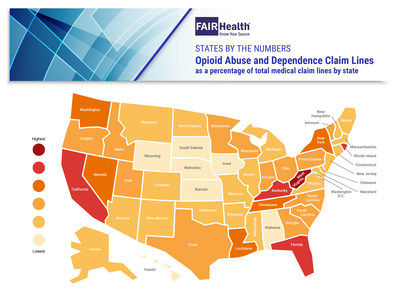 Opioid Abuse an Dependence: State-by-State