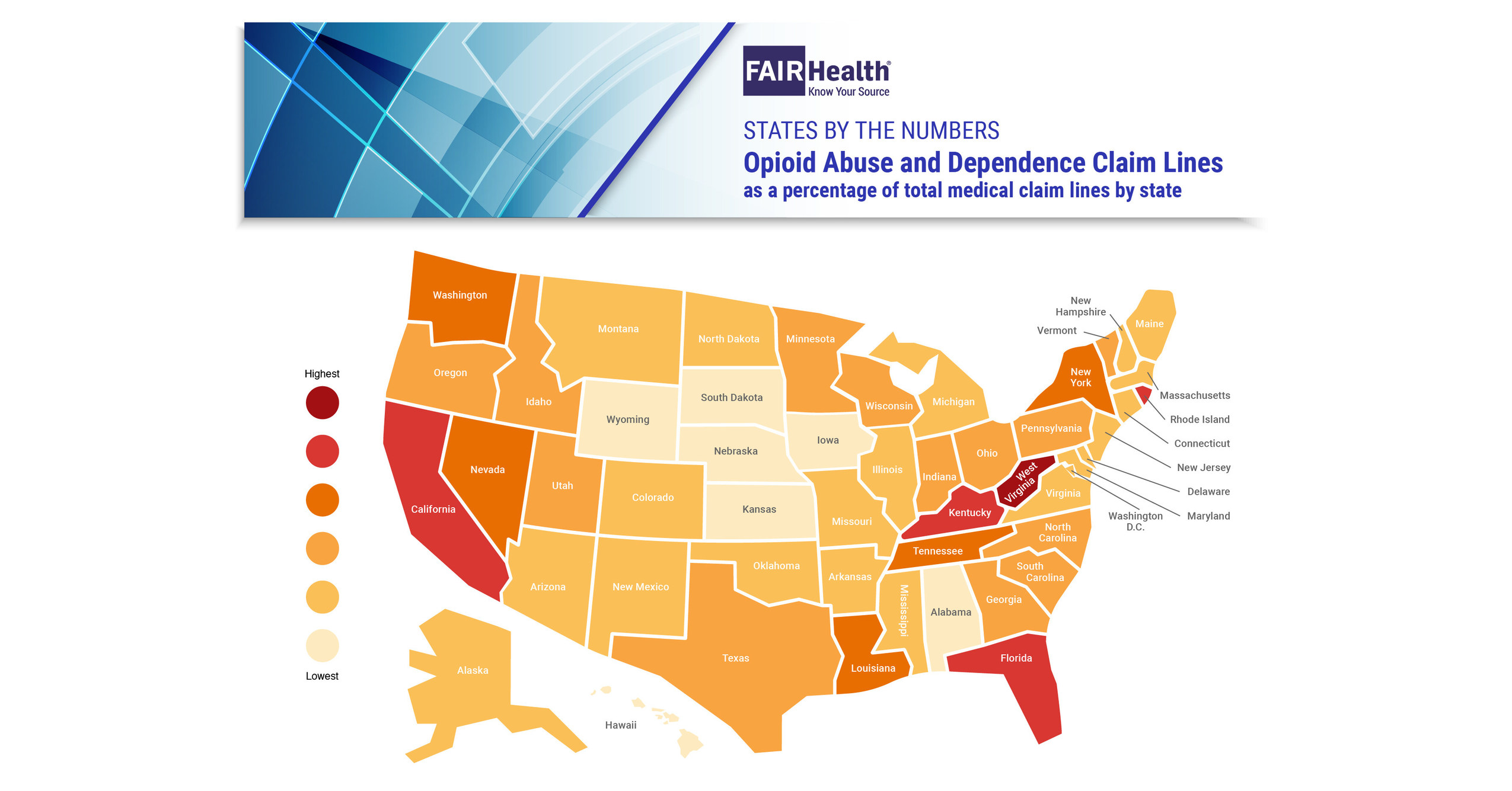 Wide Variation across the Nation in Treatment for Opioid Abuse and Dependence