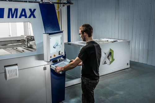 Magellan utilizes the latest in advanced sand casting technologies, including 3D sand printing and automated pouring. (CNW Group/Magellan Aerospace Corporation)