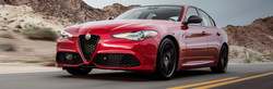 The 2018 Alfa Romeo Giulia is available now at Palmen Fiat.