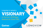 Longview Positioned as a Visionary in Gartner's 2018 Magic Quadrant for Cloud Financial Planning and Analysis Solutions