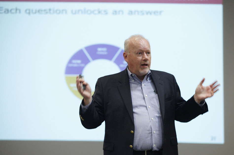 Internet marketing strategist Mike Moran is on the faculty of Rutgers Business School's Executive Education.