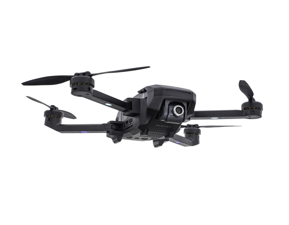 Mantis Q boasts category leading 33-Minute flight time, easy-to-use flight controls and advanced flight modes