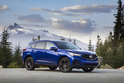 2019 Acura RDX: America's Best-Selling Compact Luxury SUV Earns Highest Possible 2018 Safety Award from IIHS
