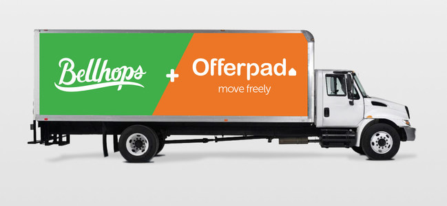 Bellhops Moving Partners with Offerpad