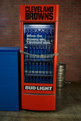 "Bud Light Introduces Cleveland Browns ""Victory Fridges"" To Reward Fans"