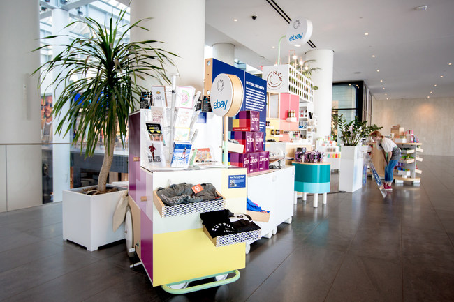 This month, eBay takes over retail concept store, The New Stand, in Brookfield Place and the Union Square subway station to bring a collection of new and unique items from Akron, OH to New York City shoppers.