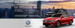 These special offers are just some of the programs available at New Century Volkswagen.