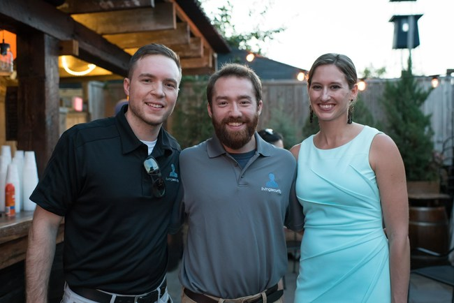 L to R: Graham Westbrook, Director of Threat Intelligence; Erik Book, Customer Success Specialist; Ashley Rose, CEO
