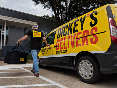 Dickey's Barbecue Pit cues the delivery.