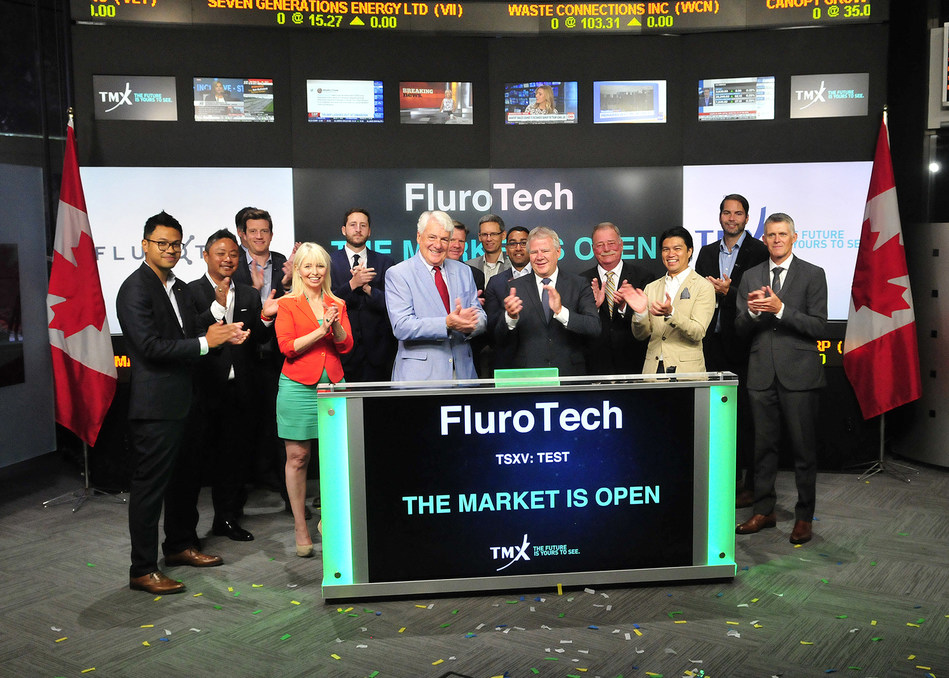 FluroTech Ltd. Opens the Market (CNW Group/TMX Group Limited)