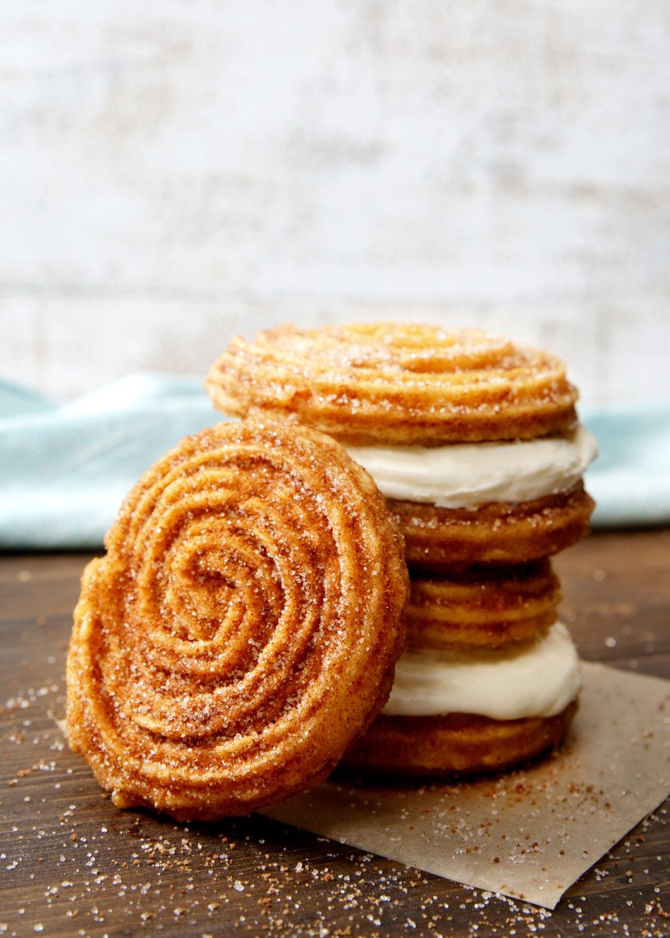 Churro Swirl and Churro Frosting Sandwich - two ways to try Cinnabon's spin on the classic treat