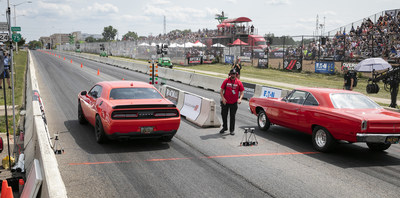 Fourth-annual Roadkill Nights Powered by Dodge continues to draw tens of thousands of enthusiasts to street-legal drag racing on Woodward Avenue.