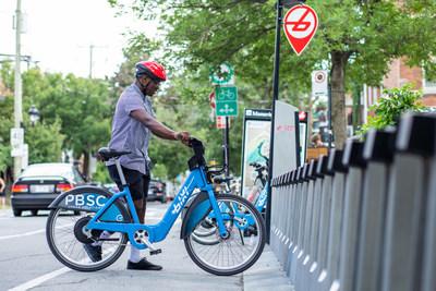 BIXI Montréal -  Projet pilote de vélos électriques (Groupe CNW/BIXI Montréal)