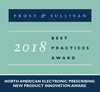Surescripts Recognized by Frost & Sullivan for Revolutionizing E-Prescribing with Prescription Price Transparency and Authorization at the Point of Care