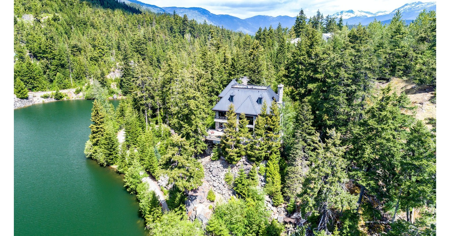 Bidding Open For Without Reserve Auction Of Whistler, British Columbia Lakefront Residence