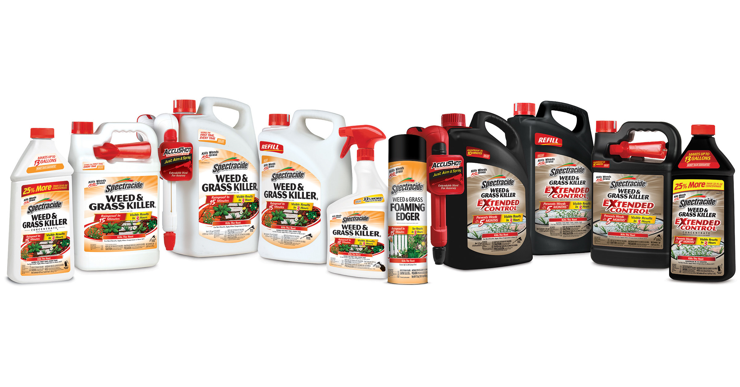 Spectracide® Weed & Grass Killer Products Not Formulated With Active Ingredient Glyphosate