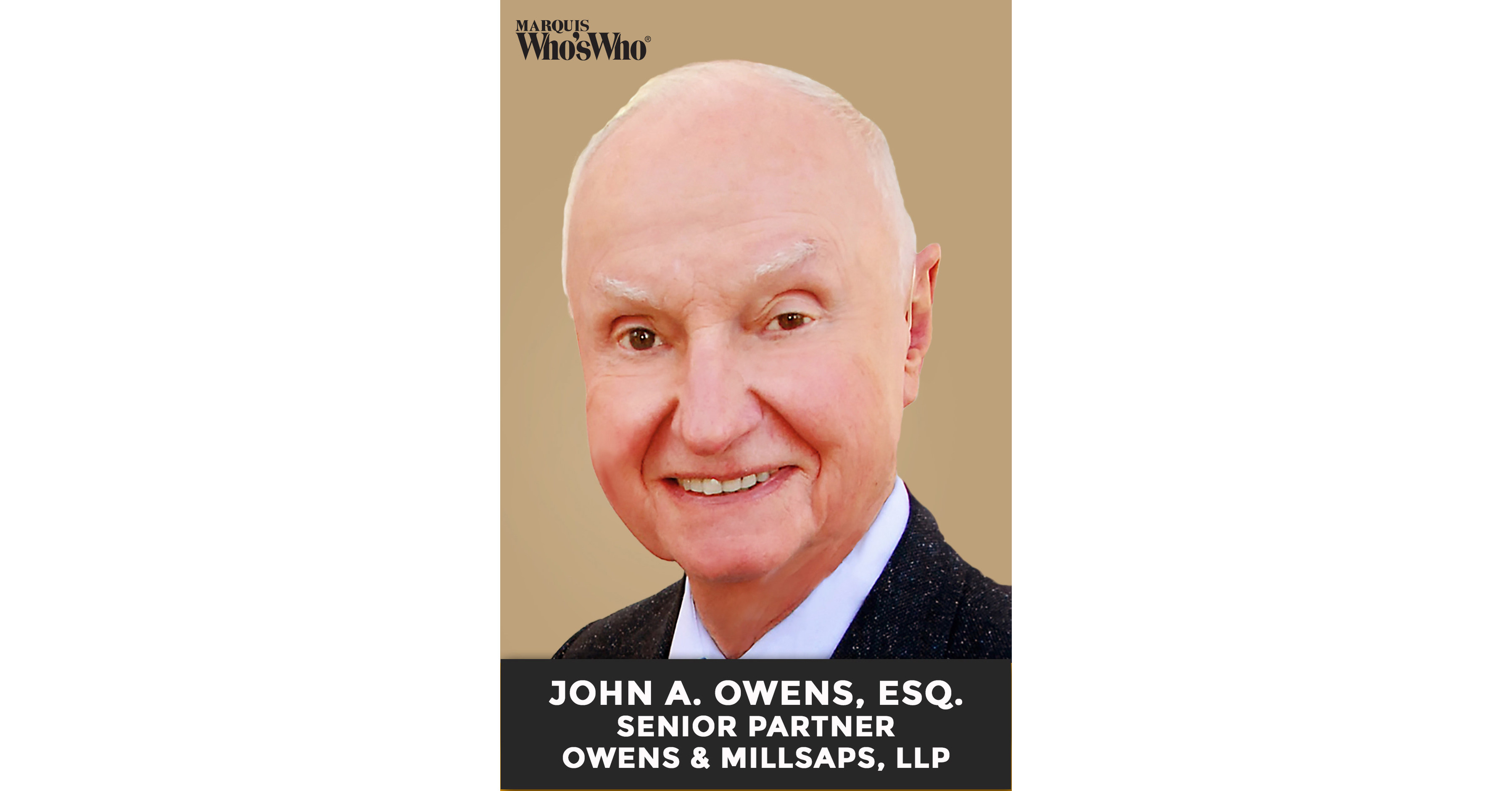 Attorney John Arthur Owens Recognized for Commitment to Civil Litigation