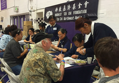 Tzu Chi volunteers are providing immediate assistance to those impacted by the Northern California Carr Fire.
