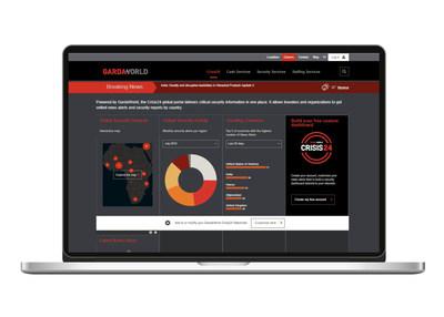 El tablero GardaWorld está disponible en garda.com/crisis24, y ofrece alertas de noticias complementarias personalizables y en tiempo real, 24/7.