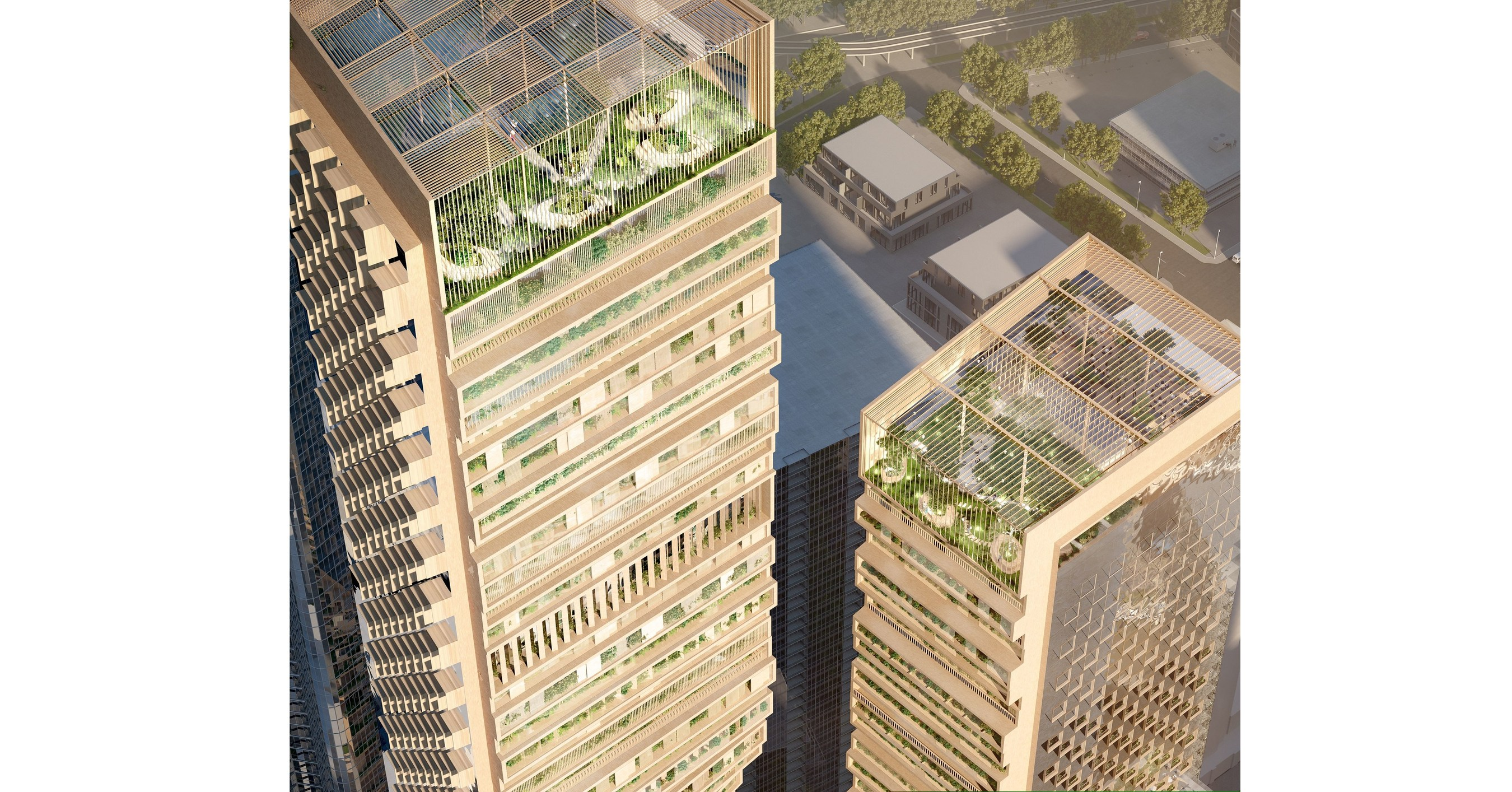 UNStudio's Design Selected for the Southbank by Beulah in Melbourne