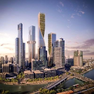 UNStudio's design selected for the Southbank by Beulah in Melbourne (PRNewsfoto/UNStudio)
