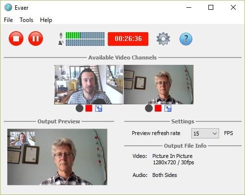 Evaer call recorder for Skype