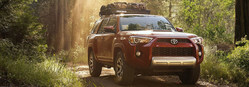 The 2018 Toyota 4Runner is available at Roberts Toyota.