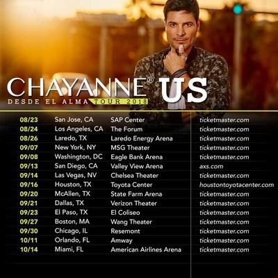 Faltan muy pocos días para el inicio de la gira más esperada #DesdeElAlmaTour con el renombrado artista internacional Chayanne®