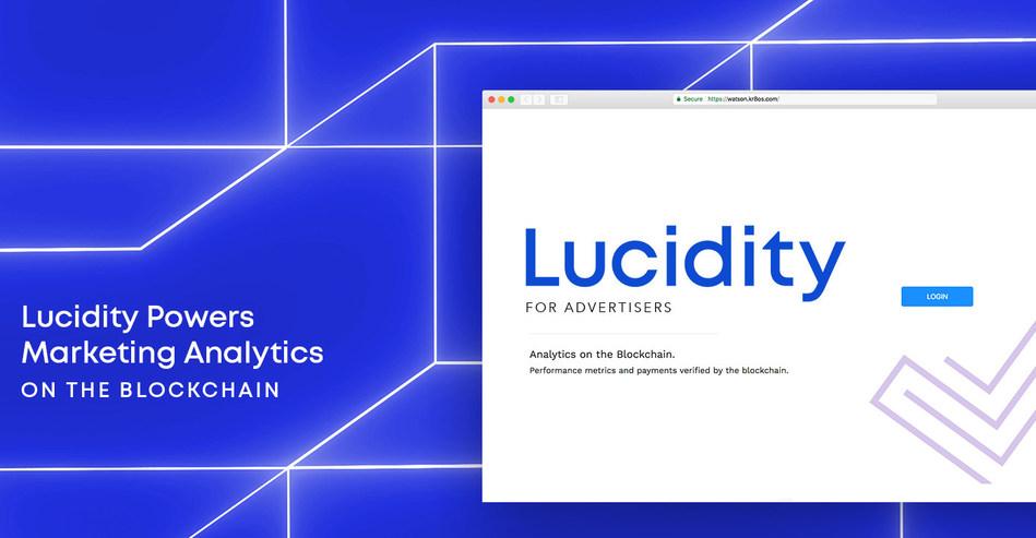 Lucidity - Analytics on the Blockchain