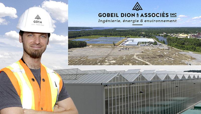 Louis-Martin Dion, Ingénieur, M. Sc., VP projets spéciaux (Groupe CNW/Gobeil Dion & associés)