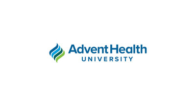 The new logo for AdventHealth University retains the legacy of the flames symbol from the Adventist University of Health Sciences' brand.