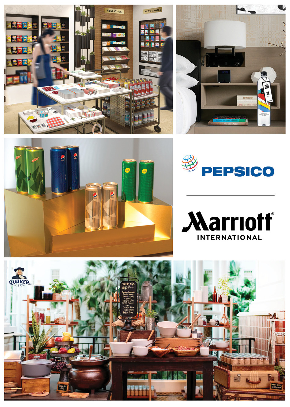 Marriott International Expands Relationship with PepsiCo.