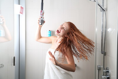 Audio Recording Booths at select Aloft Hotels in Europe for shower superstars