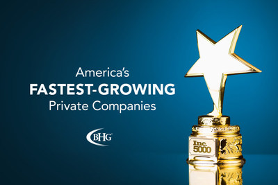 Bankers Healthcare Group made the Inc. 5000 for the 12th time.