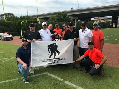 Warrior Michael Kirchgessner shared this photo from Bengals training camp.