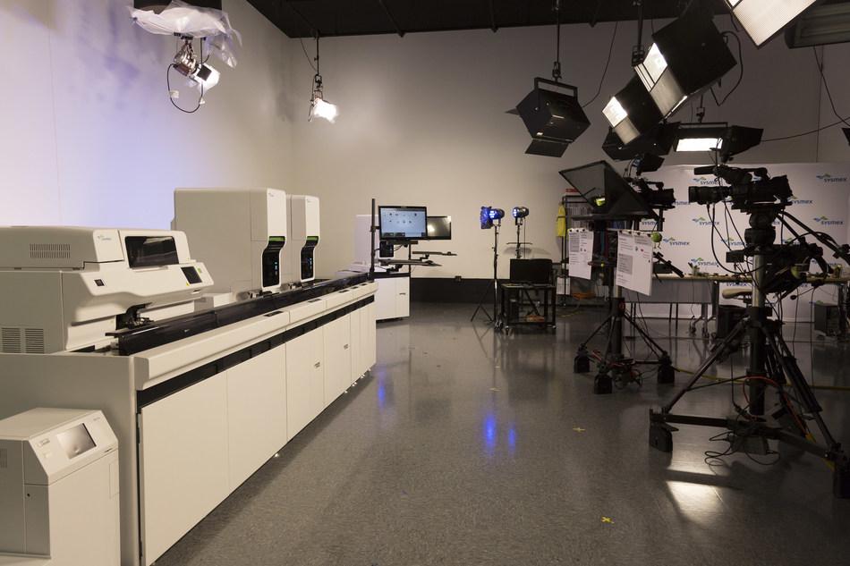 One of Seven Sysmex America VILT Professional Studio