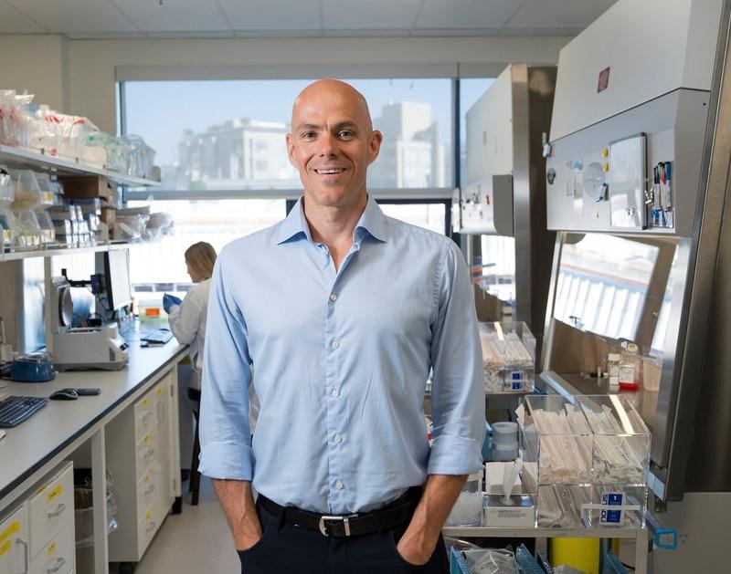 AbCellera CEO Dr. Carl Hansen (Rich Lam Photo) (CNW Group/Genome British Columbia)