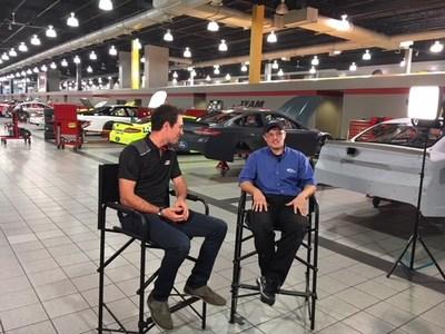 Team Penske Driver Joey Logano sits down with NASCAR Assembly Mechanic Wyatt Hatcher, a graduate of NASCAR Technical Institute