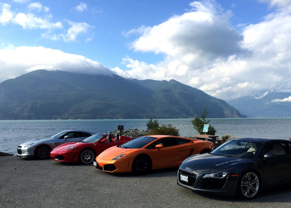 Sea to Sky Driving Experience – Scenic Rush (British Columbia) (CNW Group/Destination Canada)