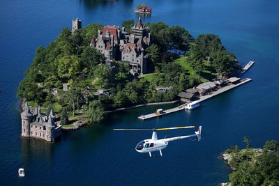 Aerial Views and Seaway Hues – 1000 Islands Helicopter Tours (CNW Group/Destination Canada)