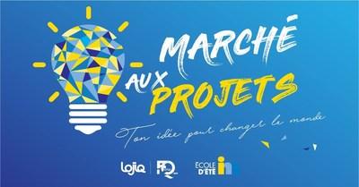 Trois activités phares seront proposées par LOJIQ aux participants de l''École d'été de l''INM dont la 4e édition du Marché aux projets mettant de l''avant de jeunes visionnaires, porteurs de projets engagés. Ces derniers auront la possibilité de réaliser des capsules vidéo présentant leur « Idée pour changer le monde… » sur la plateforme Facebook de LOJIQ. (Groupe CNW/Les Offices jeunesse internationaux du Québec)