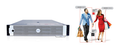 The AI Appliance enables customers to keep legacy camera investments while adding state-of-the-art Avigilon Appearance Search and video analytics technology. (CNW Group/Avigilon Corporation)