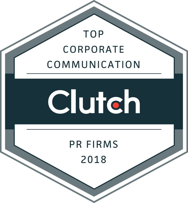 Top PR firms for corporate communication named by Clutch