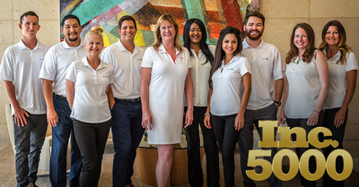 Competitive Health, Inc. at the Irvine, CA headquarters. Inc. 500 is a registered trademark of Mansueto Ventures LLC.