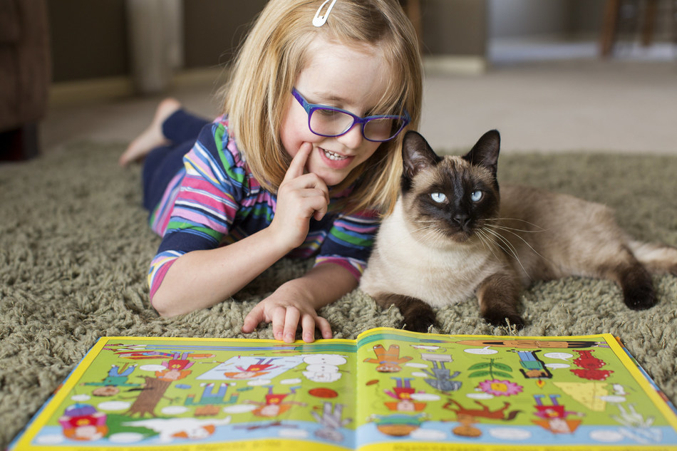 Living with sensory processing disorder makes change difficult for five-year-old Karina. But Jack-Jack's loyal friendship provides a calm respite for her, especially when she transitioned from school days to summer vacation. Karina's story is just one of many that show the life-changing power of pets.