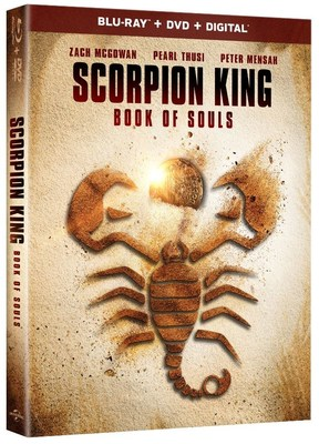 From Universal Pictures Home Entertainment: Scorpion King: Book of Souls