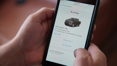 "eBay Motors' ""My Garage"" allows buyers to shop a personalized"