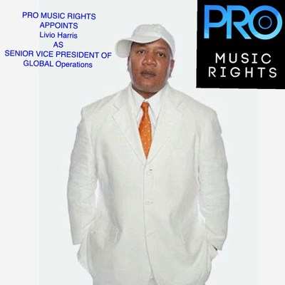 Pro Music Rights Appoints Livio Harris as the Senior V.P. of Global Operations